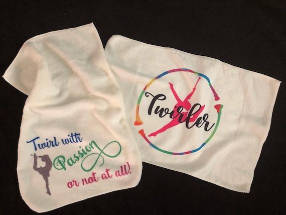 "Baton Twirler Towel | Microfiber | 16""x24"""