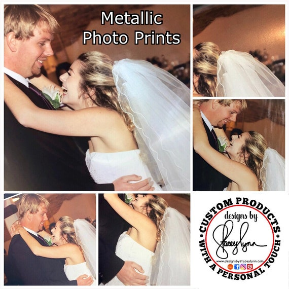 Metallic Photo Prints - the pics of these prints just don't  show the beautiful shine!