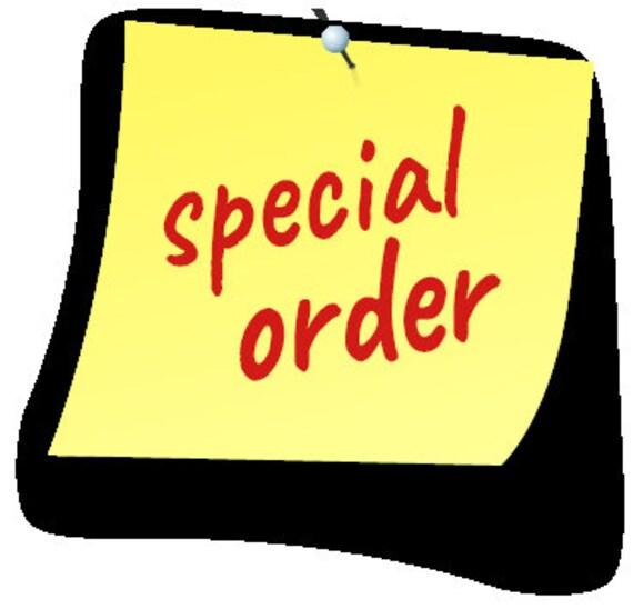 Custom order for Tricia M
