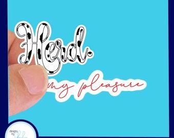 Herd and My Pleasure sticker set, 2 pieces - Waterproof Stickers