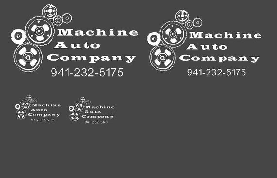 Custom listing for Machine Auto Company