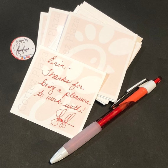 CFA Employee Compliment Cards | Shout Out Card | 2.85"