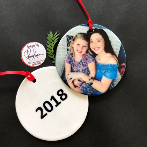 "Bradenton Christian School Special = Ceramic Photo Ornament, 2.85"" photo ornament"
