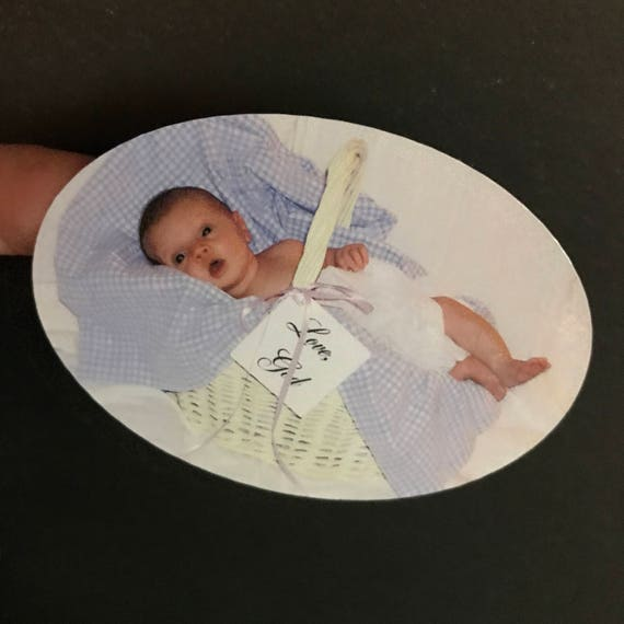 PHOTO STICKERS - Set of 10 - High Quality shaped stickers using your favorite photo or logo. Use for announcements and invitations