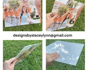 Acrylic Photo Tile, High Quality, 2 sizes available |  Display Indoors or Outdoors