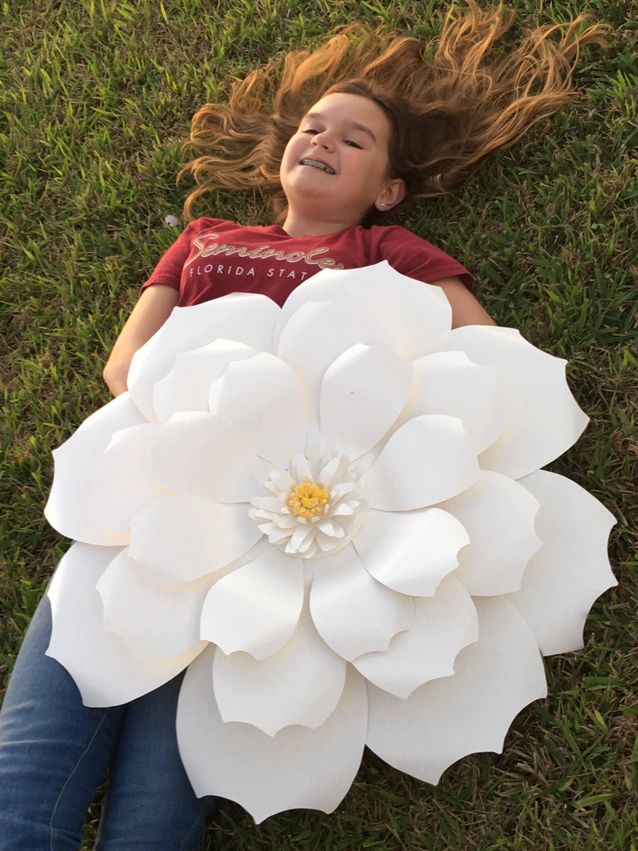 Giant Paper Flowers Paper Flower Backdrop Flower Photo Prop