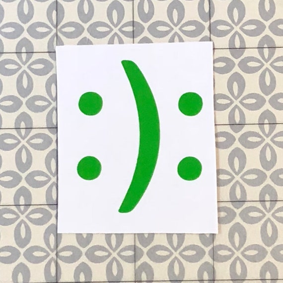 BiPolar decal | Happy Sad Decal | Mental health awareness |