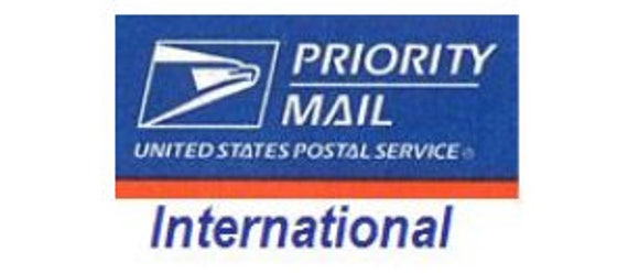 Shipping Upgrade | Priority Mail International | Ship overseas