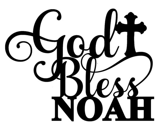 CUSTOM God Bless SVG & JPG file | God Bless  cut file | God Bless Cricut File | God Bless Silhouette Cameo File