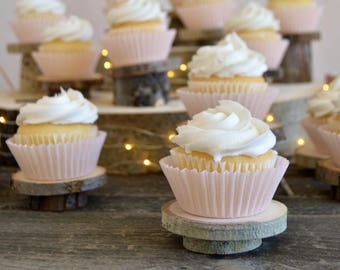 20 Rustic Cupcake Stands ~ Individual Cupcake Stands ~ Summer Wedding