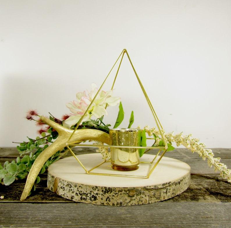Gold Himmeli Pyramid Bulk Order Geometric Wedding Etsy