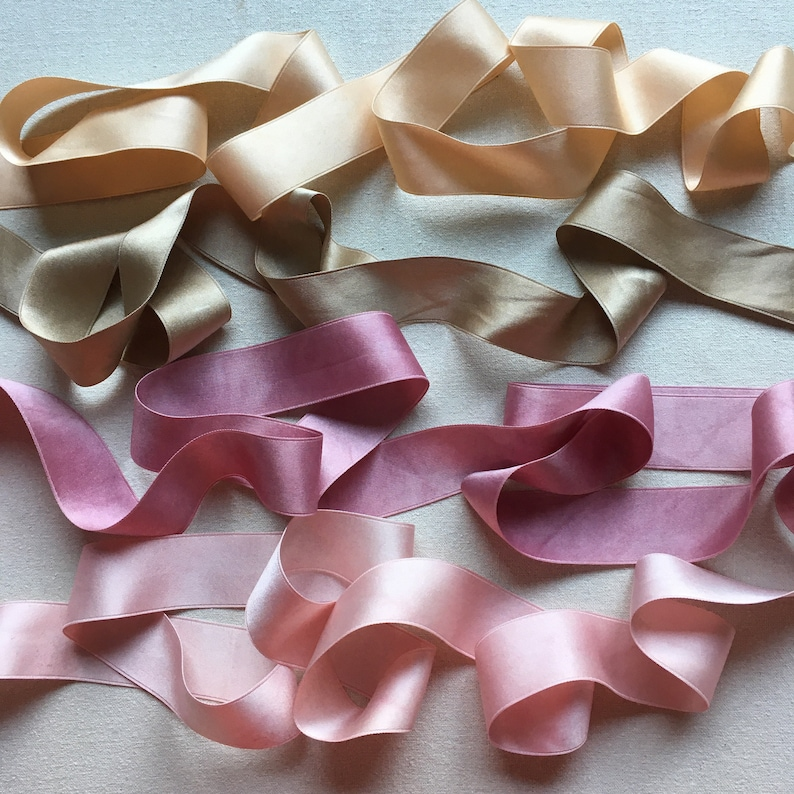 Walnut Silk Satin Ribbon Luxurious and elegant the perfect finishing touch for bouquets and gifts hand dyed with natural dye