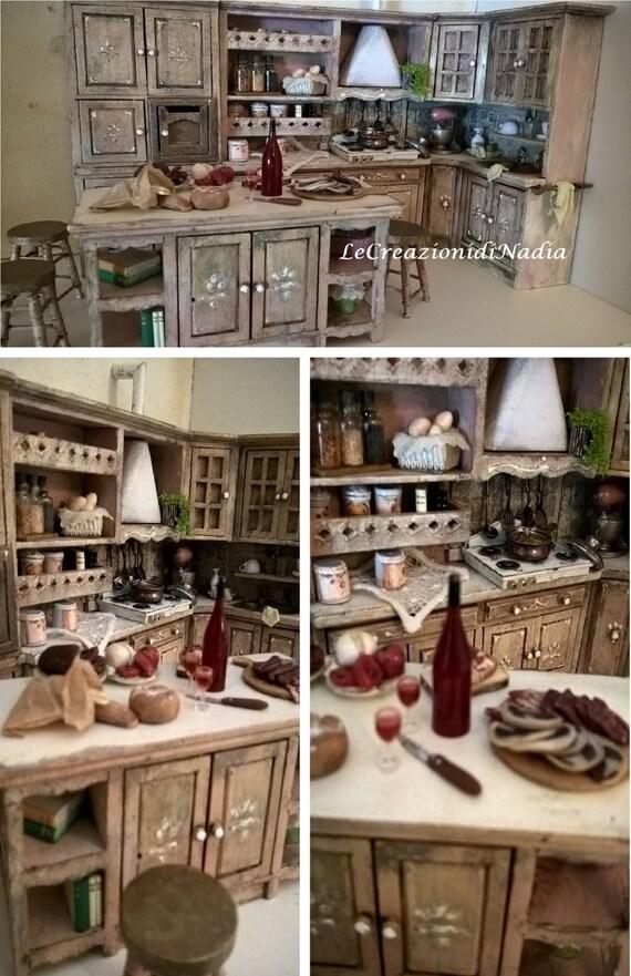 NEUEN Stil Shabby Chic Küche Puppenhaus Miniaturen Preis | Etsy