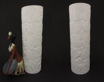 vase applied handle to one side fat lava glaze Retro vessel west German pottery warm earth tones