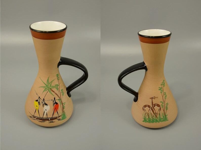 Vintage Vase  D\u00fcmler and Breiden  346 22  Decor Afra 60s West Germany WGP