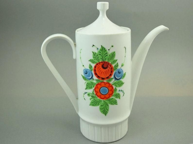 Teekanne Kaffeekanne Kahla Ddr 70er Jahre Antiquitäten & Kunst