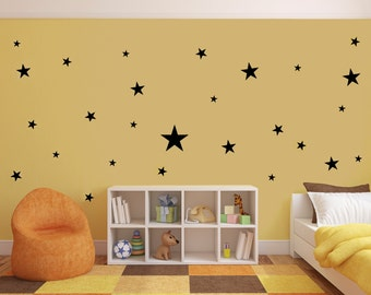Vinyl Wall Decal Star Stickers