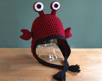 Crochet Pattern: Hermit Crab Hat in Adult, Child, Toddler,and  Baby Sizes