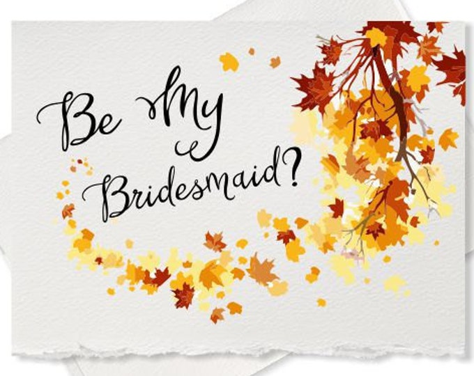 Rustic wedding, will you be my Bridesmaid, card, proposal, invitation will you be my bridesmaid, bridal party wedding party 2