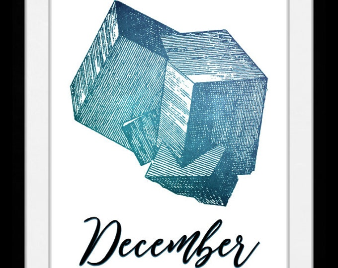 December birthstone turquoise, wall art, home decor, art prints, canvas and framed options, cards
