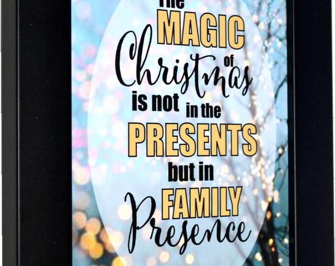 Christmas Presents Wall Art, home decor, art prints, canvas and framed options, card option