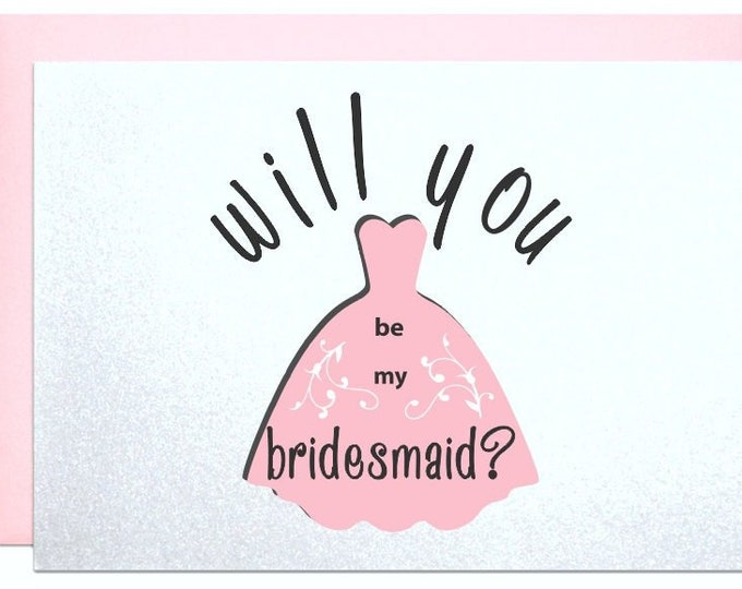 Will you be my bridesmaid cards, to ask bridemaids, proposal bridesmaids invitation cards bridesmaid gifts wedding party gift