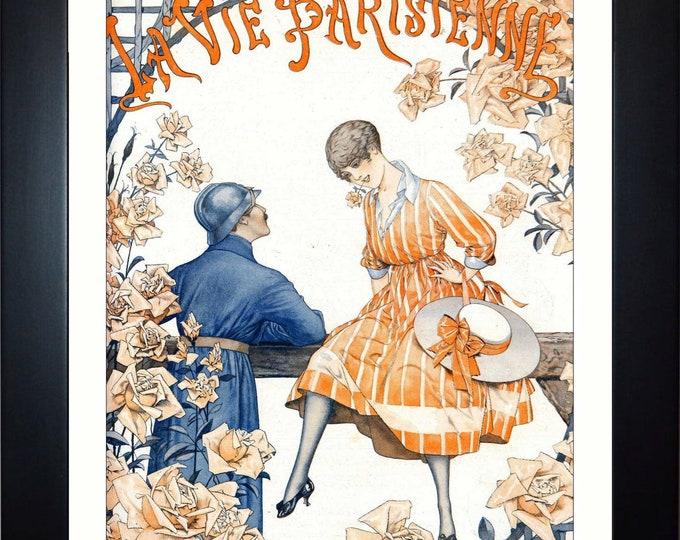 La Vie Parisienne #2 Wall Art, Home Decor, Art Prints, Canvas And Framed Options, Card Option