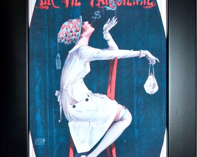 La Vie Parisienne #1 Wall Art, Home Decor, Art Prints, Canvas And Framed Options, Card Option