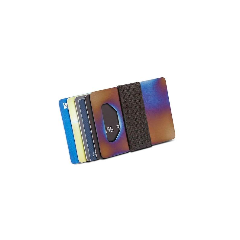 Minimalist wallet credit card wallet mens wallet womens image 0
