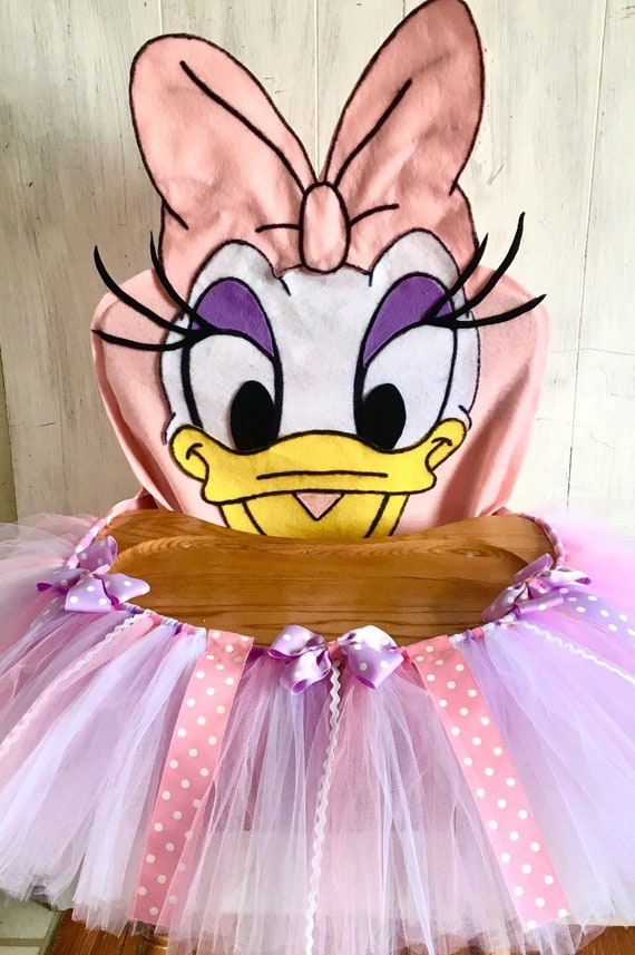Daisy Duck Birthday High Chair Banner Cover