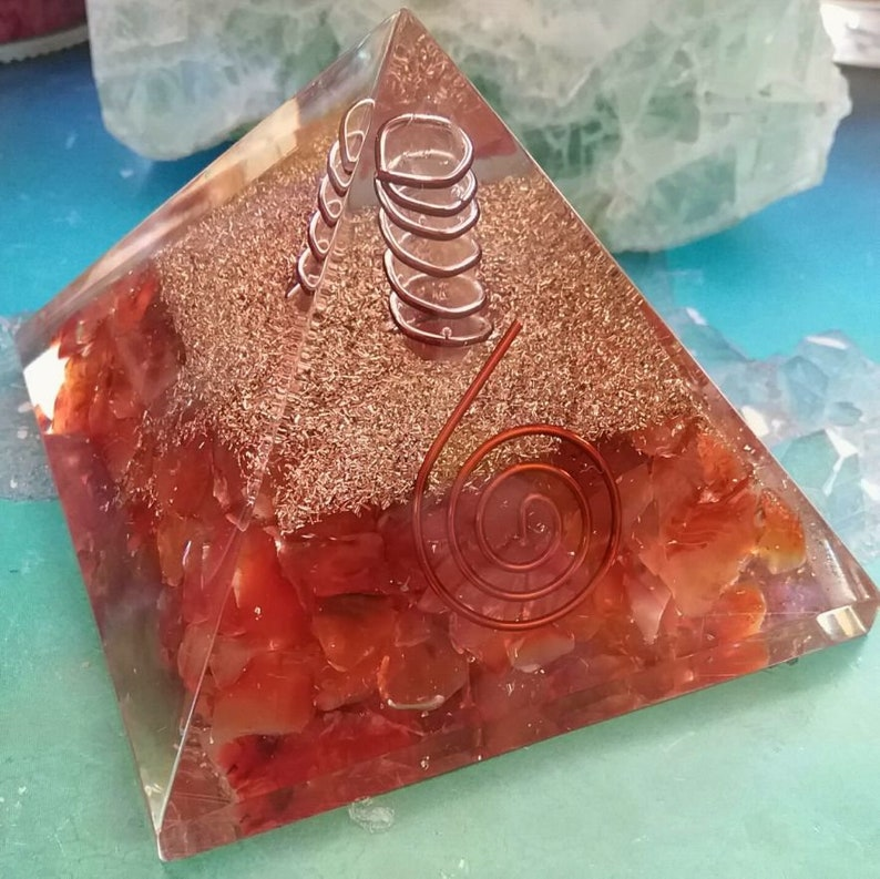"Pick QTY Kind Orgone Mini Cubes Black Sun Quartz Crystals 1//2/"" Reiki Energy"