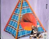 Snug Pup Tent pattern for a pet bed and removable pillow Ellie Mae K270  UNCUT & FF (2019)  K3640