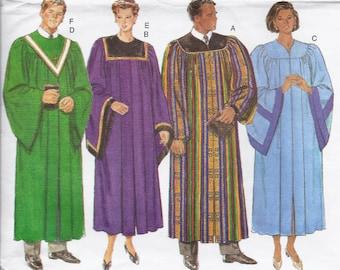 Butterick Pattern #B4542 Childrens Choir Robe /& Collar Costume Size M-L UCFF