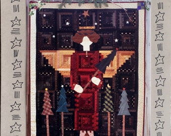 Angel Mini Quilt Wall Hanging FREE SHIPPING