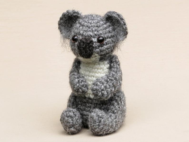 Boeloe the koala bear amigurumi crochet pattern image 0