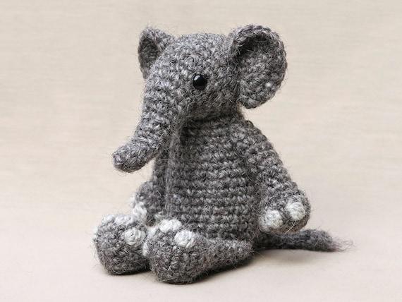 Midi Elephant Amigurumi Plush | Bluprint | 428x570