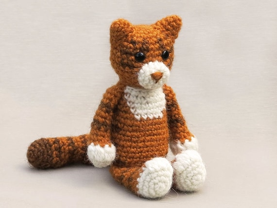 Martouf Amigurumi Crochet Cat Pattern Etsy