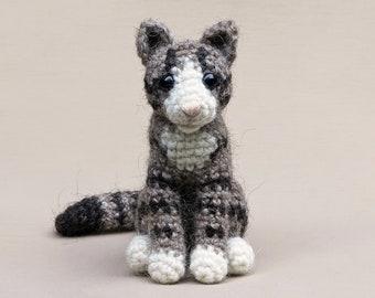 Balthazar, realistic crochet cat amigurumi pattern