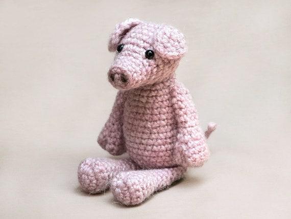 Gus Amigurumi Crochet Pig Piglet Pattern Etsy Impressive Crochet Pig Pattern
