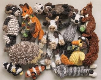 4 for 3 pattern pack! Crochet animal / amigurumi patterns, buy 3 get one free.