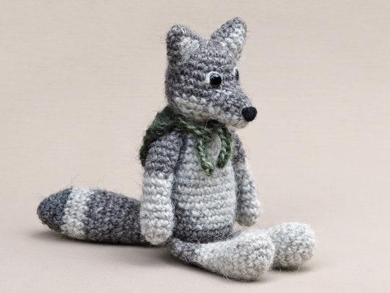 Amigurumi Crochet Wolf Pattern Etsy