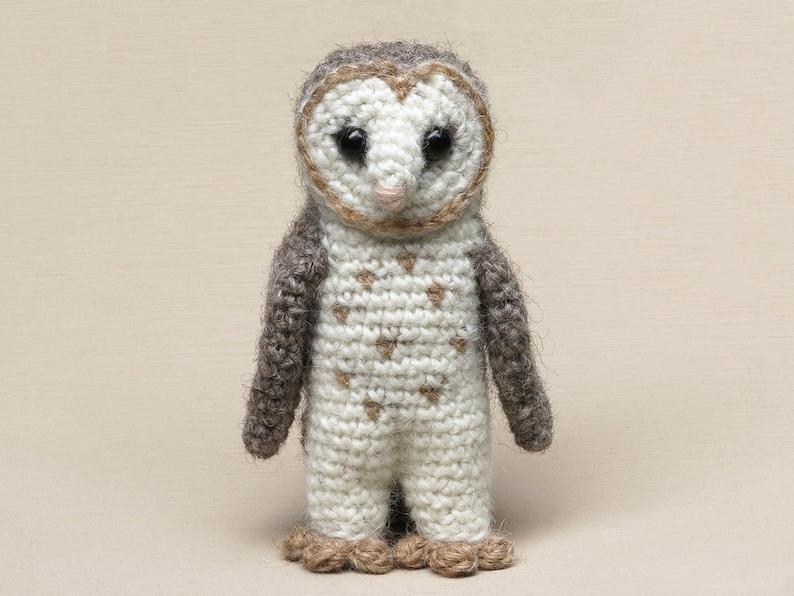 Barnsby the realistic crochet barn owl amigurumi pattern image 0