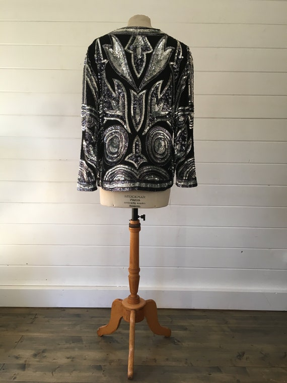 Frank Usher Sequined Jacket