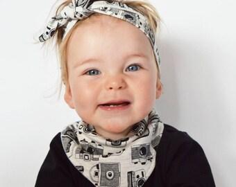 Baby bib | Instagram Bib | Camera Bib | baby dribble bib | bandana bib | dribble bib | baby bandana bib  | adjustable bib | Photography Bib