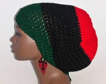 57600ab21ab Pan-African Dreadlock Tam Hat Cap