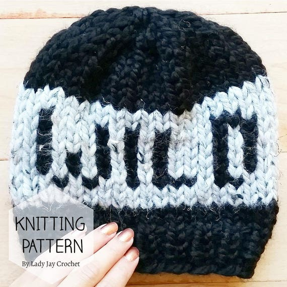 Pattern Wild Toddler Beanie Toddler Word Collection Etsy