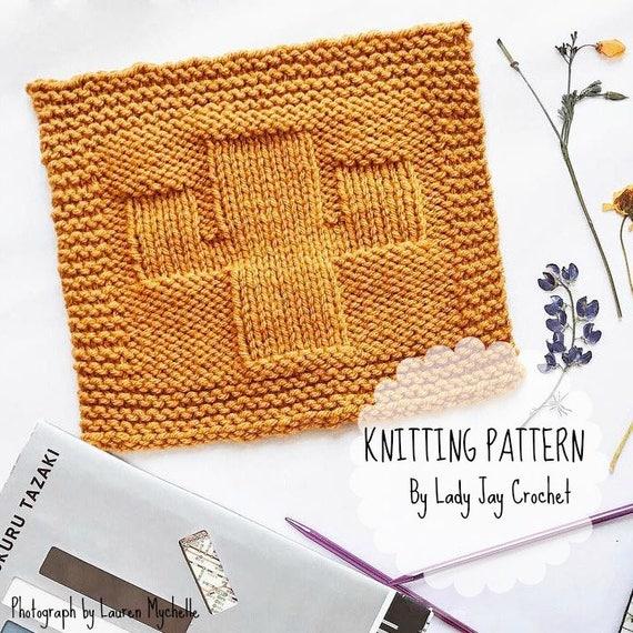 Pattern Saguaro Cactus Wash Cloth Easy Knit Dish Cloth Etsy