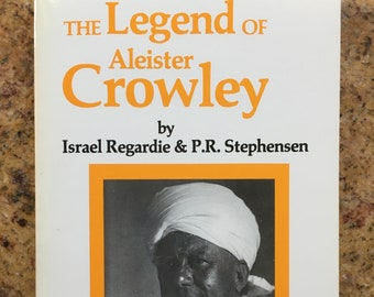 1990 Regardie The Legend of Aleister Crowley -- New Falcon Press 3rd printing