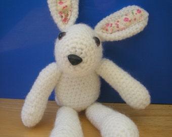 Cute Crocheted Rabbit