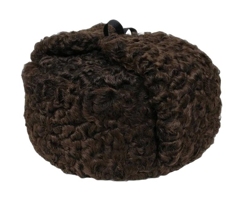 bb0c89358e815 Persian Lamb Russian Ushanka Hat